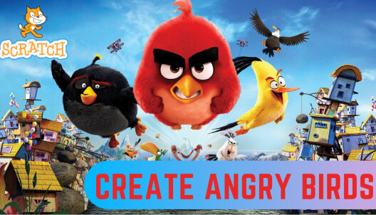 Create Angry Birds game in Scratch