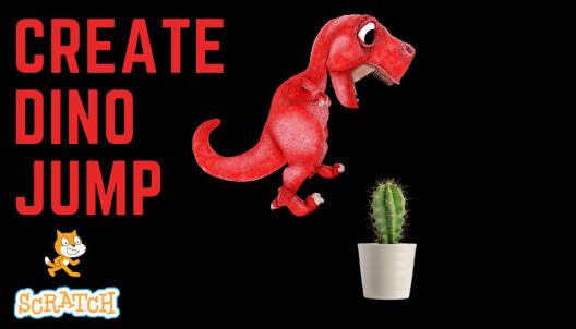 Create Dino Jump in Scratch