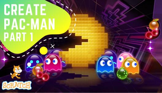Create Pac Man game in Scratch Part 1