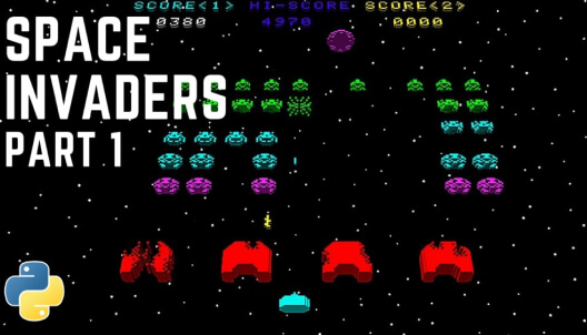Create Space Invaders with Python