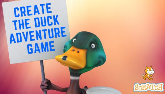 Create Duck Adventure Game in Scratch