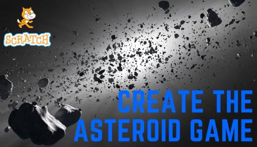 Create the Asteroids game in Scratch
